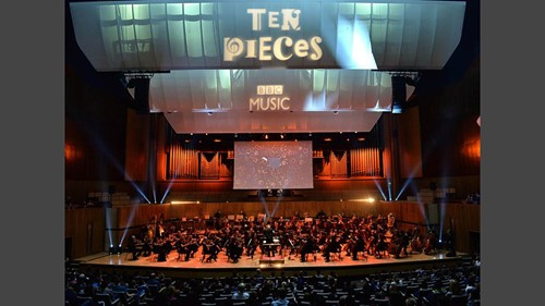 Picture from the BBC Ten Pieces Proms